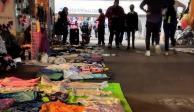 Fotografía de La Tianguis Disidente antes de las agresiones que sufrieron los comerciantes LGBT+.