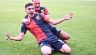 VIDEO: Así fue el golazo de Johan Vásquez, en su debut con el Genoa de la Serie A