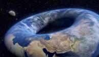 teoria de la tierra con forma de dona