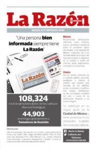 Anúnciate Media Kit Impreso 2020