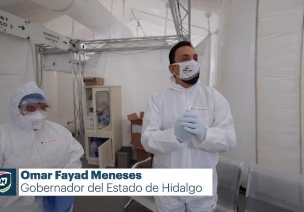 Gobernador Omar Fayad explica el sistema de Telemetría