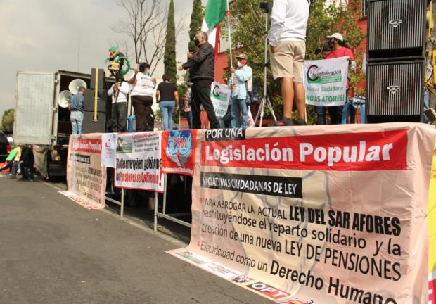 Manifestación San Lázaro