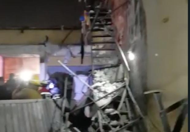 Explosión en la Colonia Morelos