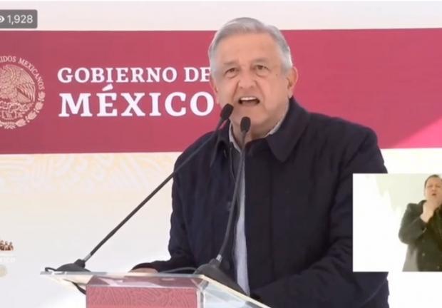 Discurso de AMLO en gira por Baja California.