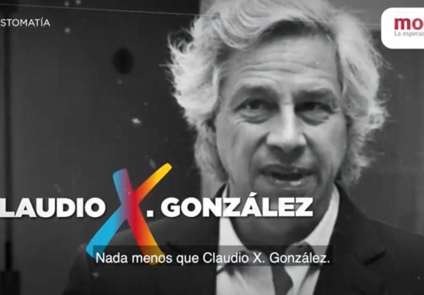 Morena acusa al empresario Claudio X González de ser jefe del PRIAN