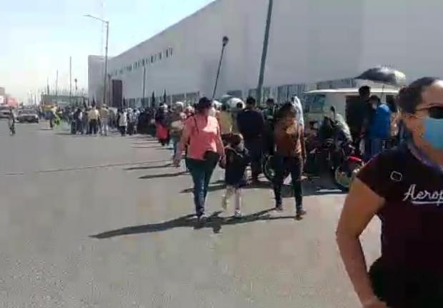 Vacunación en Ecatepec