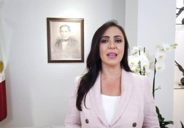 Mensaje de la presidenta municipal de Naucalpan, Patricia Durán.