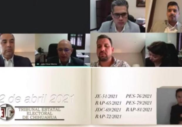 El Tribunal Estatal Electoral determinó que el registro de Maru Campos es válido.