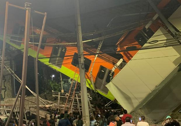 Accidente Metro Línea 12