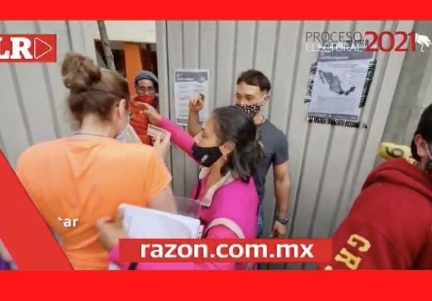 Cierre de casillas en alcaldía Benito Juárez