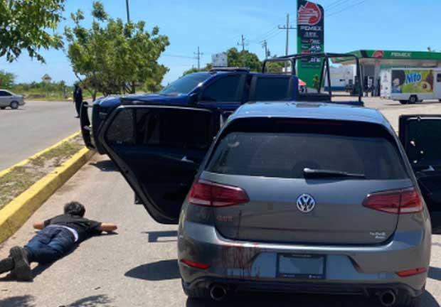 Atacan a balazos a policías en Sinaloa
