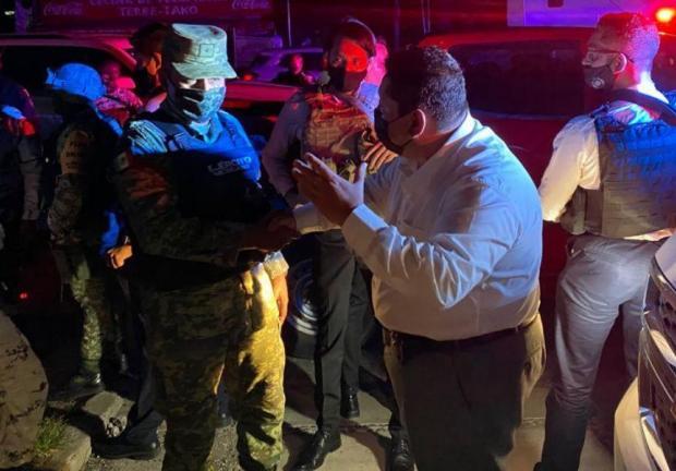 Enfrentamiento deja 2 lesionados y 5 detenidos en Yautepec, Morelos