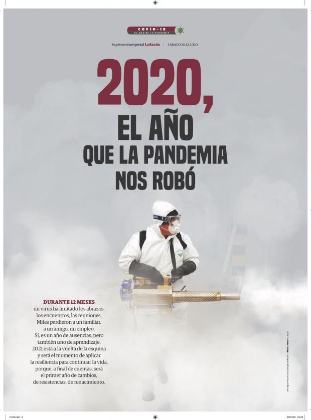 2020, el año que la pandemia nos robó