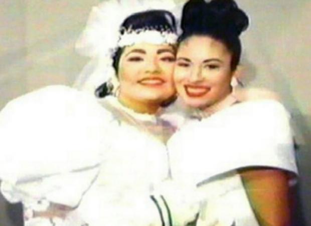 """Selena, la serie"""": Así fue en la vida real la boda de Suzette, hermana de Selena Quintanilla (FOTOS)"""
