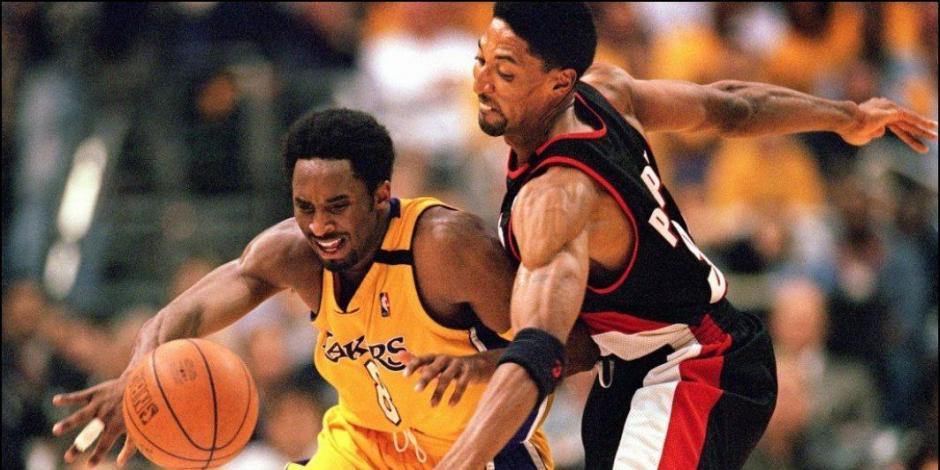 Kobe Bryant, Michael Jordan, Scottie Pipen, Lakers, Bulls, NBA