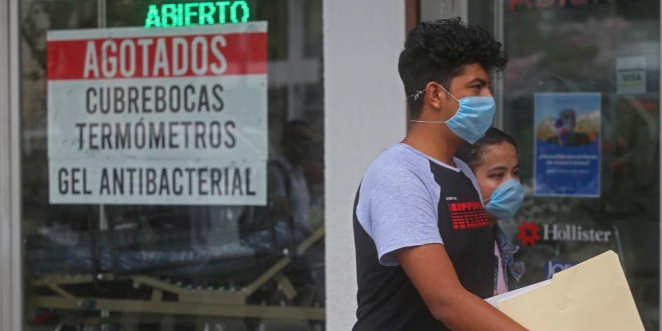 Sube a 118 cifra de casos confirmados de Covid-19 en México