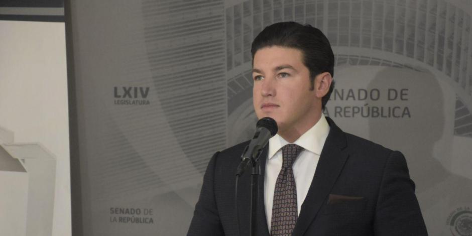 Senador Samuel García Sepúlveda acusa a gobierno de AMLO de 'maquillar' cifras de Covid-19