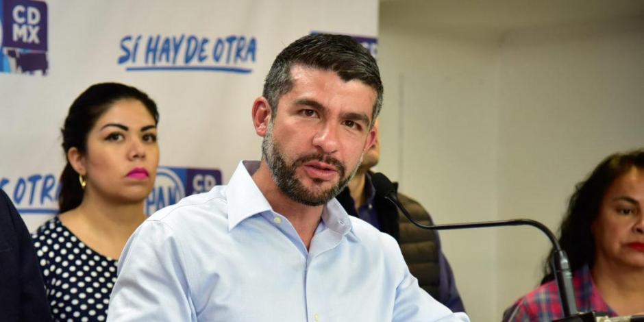 Nombran a Mauricio Tabe presidente de la Jucopo en Congreso capitalino
