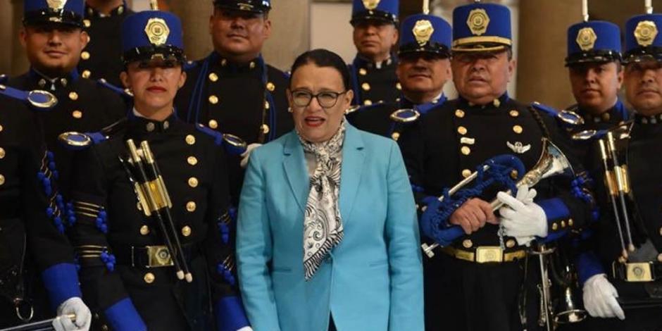 Rescate de Pemex que realiza AMLO, comparable a la expropiación petrolera: Rosa Icela Rodríguez
