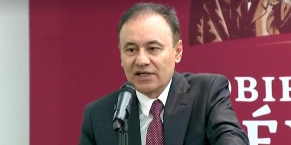 Descarta Alfonso Durazo renunciar tras violencia en Culiacán