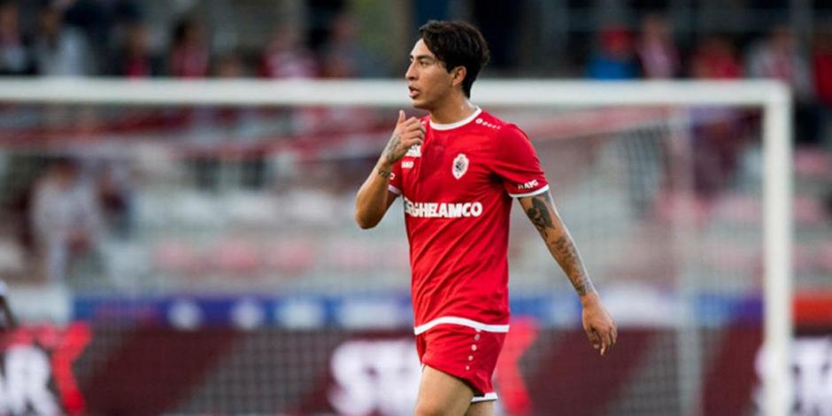 Omar Govea se despide del Royal Antwerp de Bélgica