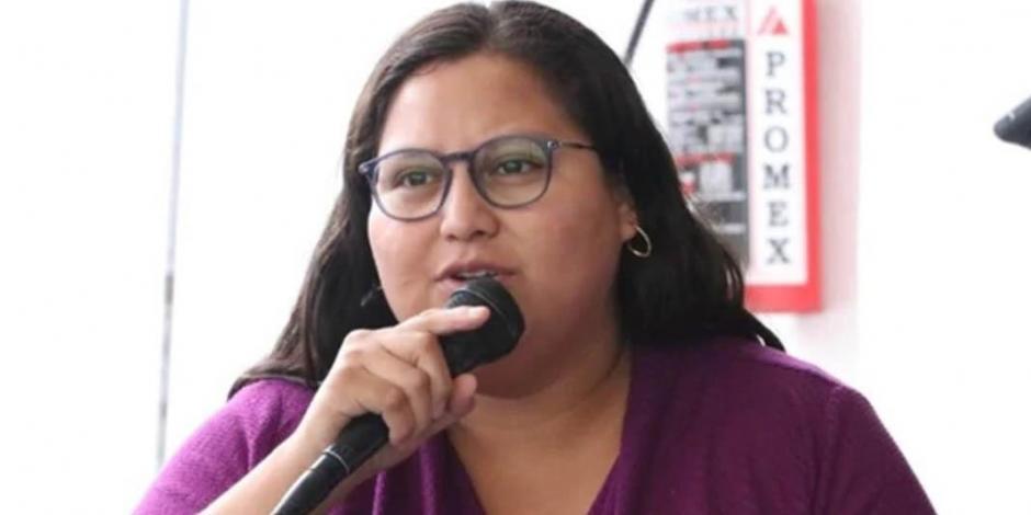 No tengo miedo, dice Citlalli Hernández tras estallido de libro-bomba