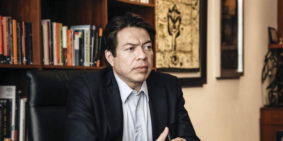 Cuento con perfil para coordinar a diputados: Mario Delgado