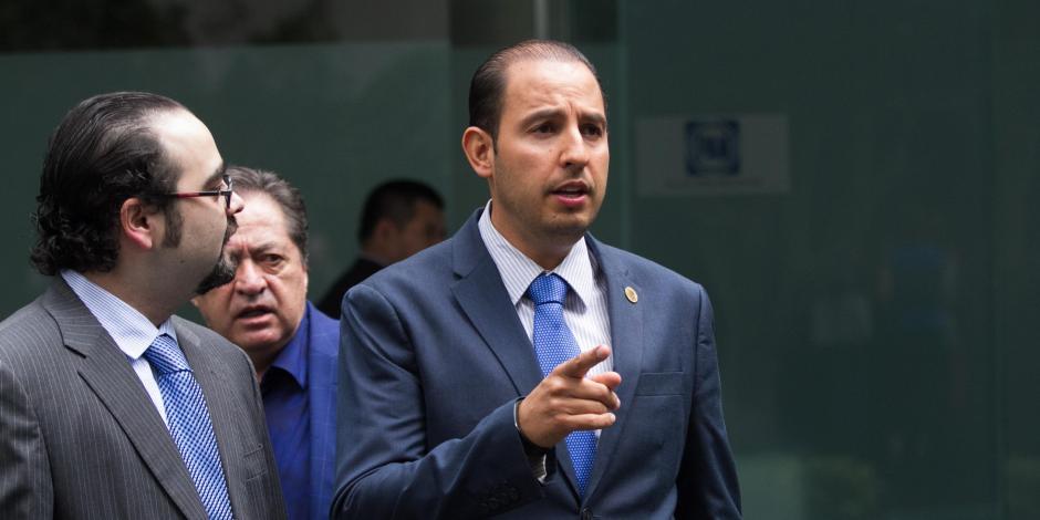 Llama Marko Cortés a la unidad y a la reconciliación al interior del PAN