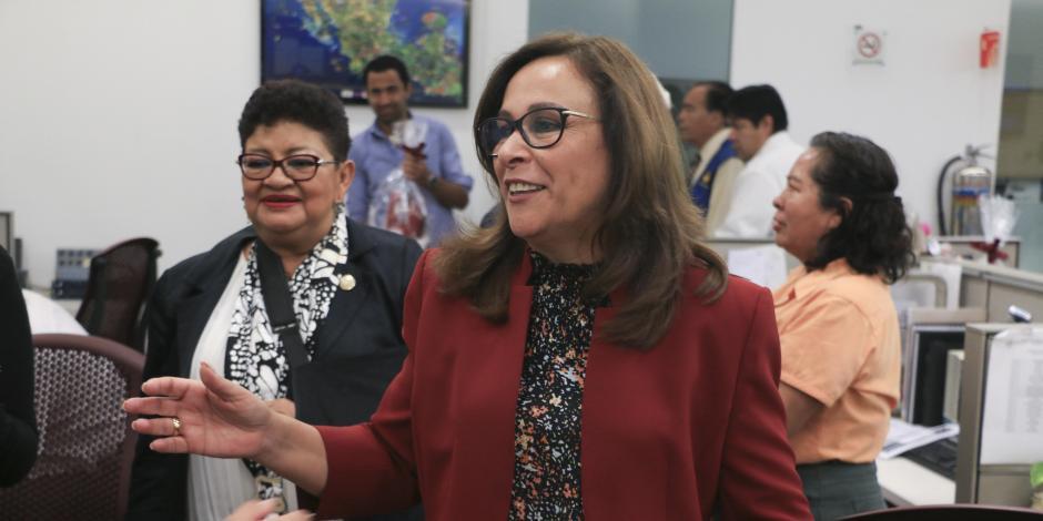 Quién es Rocío Nahle García, presentada como futura secretaria de Energía
