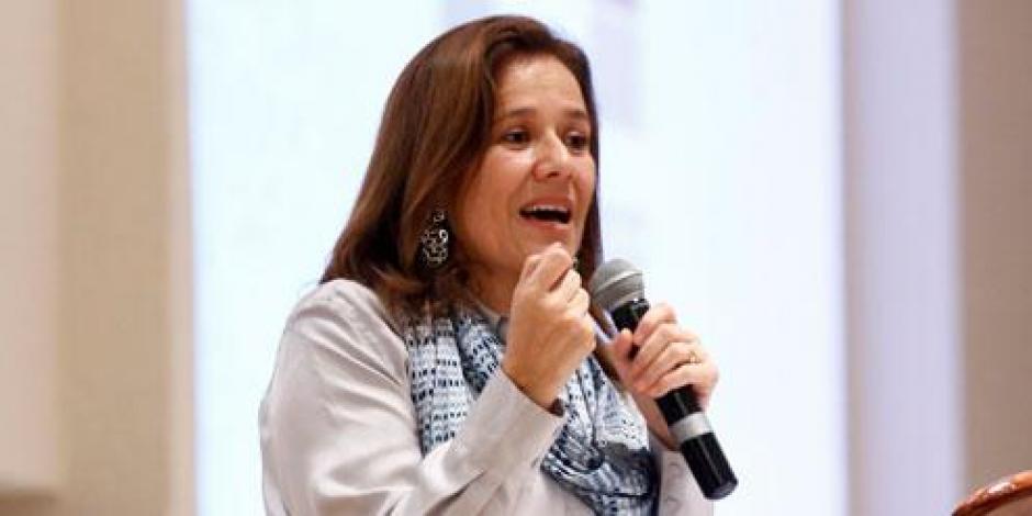 Salir en spots no es lo más importante, afirma Margarita Zavala