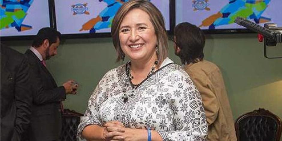 Transmite Xóchitl Gálvez por Periscope reunión con CDHDF