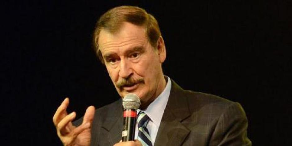Cualquiera se salta la Ley 3de3, afirma Vicente Fox
