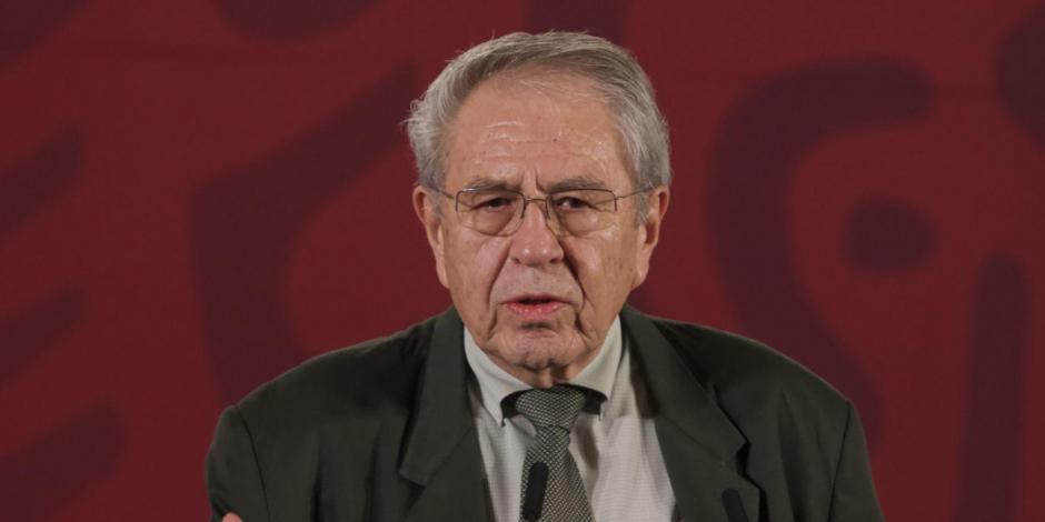 Jorge Alcocer, secretario de salud, semáforo nueva normalidad