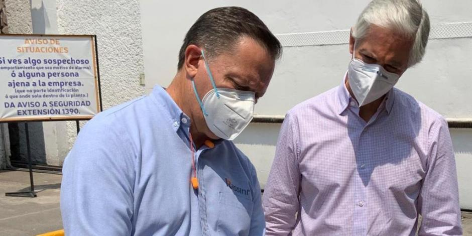 El gobernador Alfredo del Mazo visitó la planta de Rassini