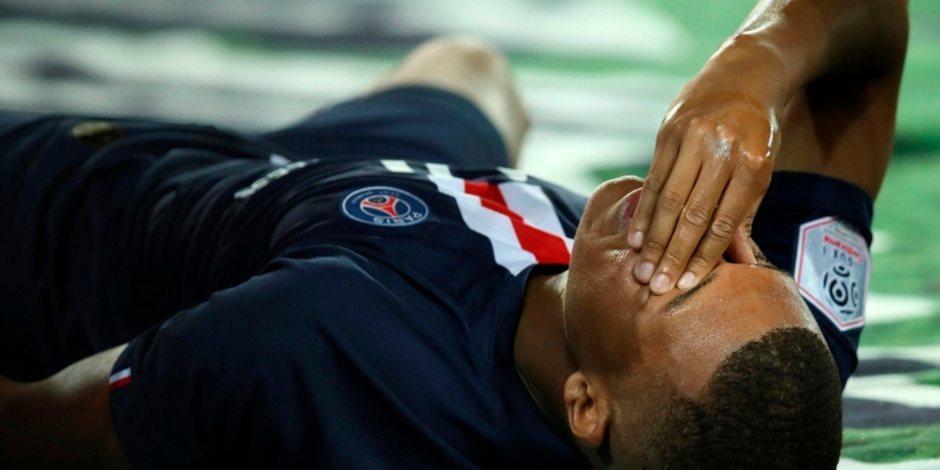 Kylian Mbappé podría perderse el regreso de la Champions League por lesión