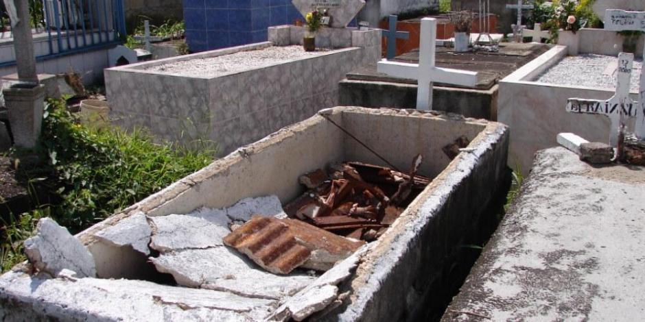 Profanación de tumbas