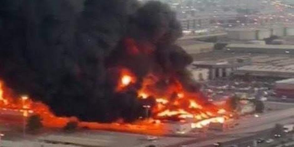Incendio-Emiratos Árabes-mercado