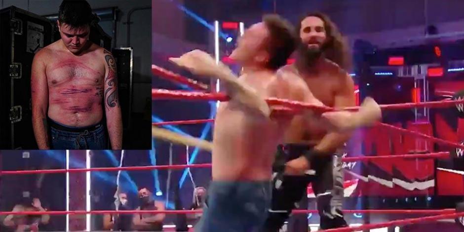 WWE-Dominik-Rey-Mysterio-Lucha-Libre-Seth-Rollins