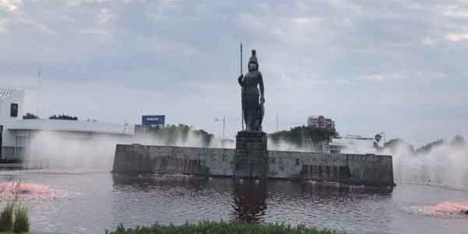 La Minerva rojo