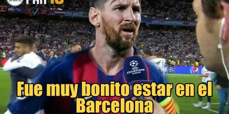 Memes Lionel Messi