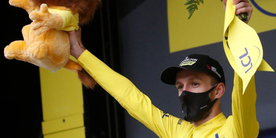 Nans Peters se lleva la octava etapa del Tour de Francia; Yates sigue de líder
