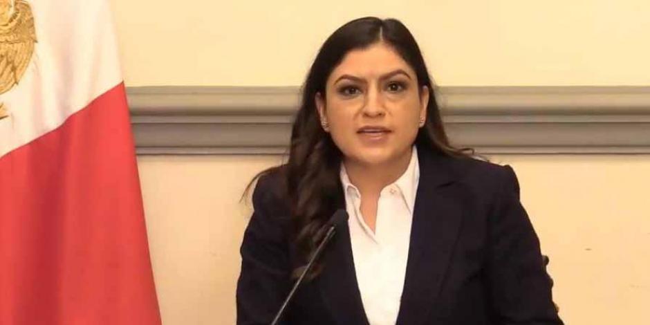 Alcaldesa Claudia Rivera