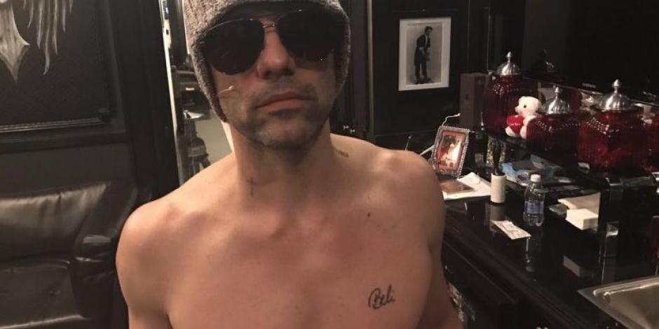 Criss Angel aún conserva el tatuaje con el nombre de Belinda que se hizo en el pecho?