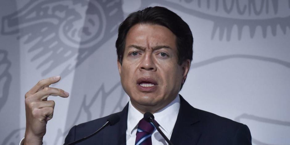 Mario Delgado Carrillo, aspirante a la dirigencia nacional de Morena.
