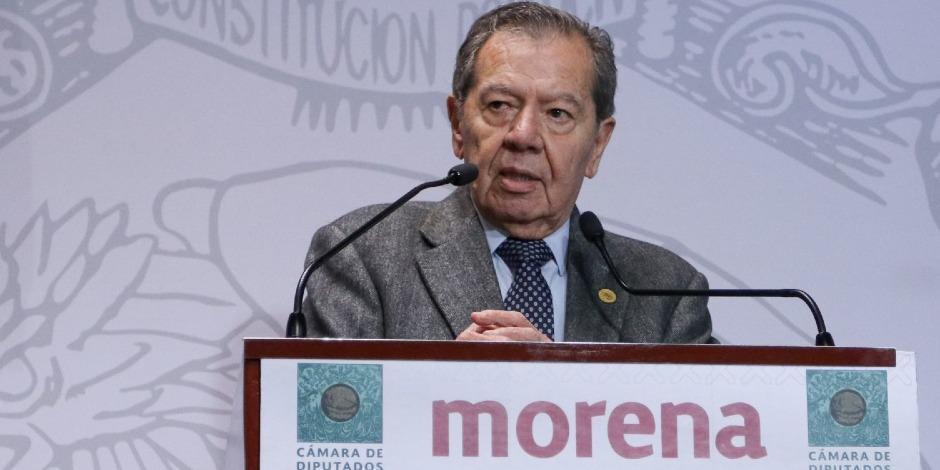 Porfirio Muñoz Ledo-INE-Lorenzo Córdova