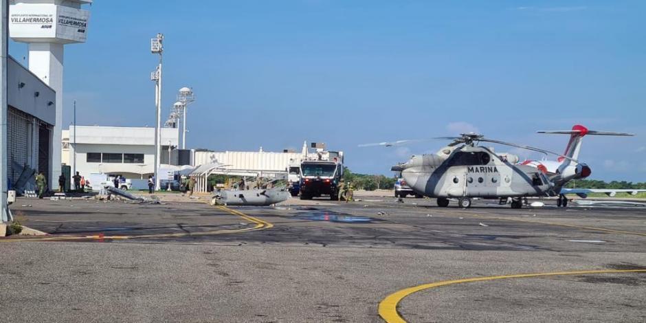 Helicoptero Semar Tabasco