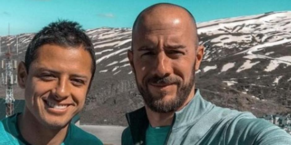 Chicharito y Diego Dreyfus