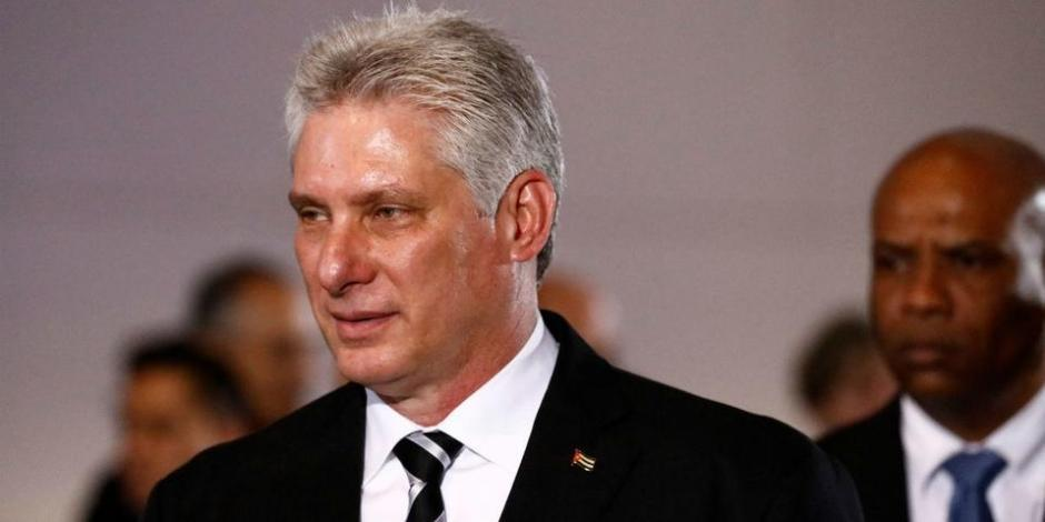 Presidente de Cuba: Miguel Díaz-Canel