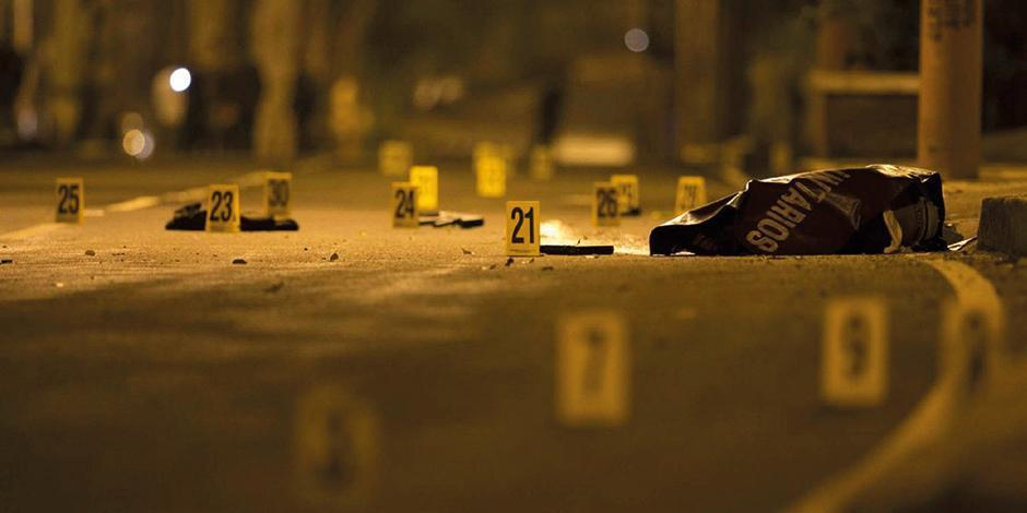 Foto ilustrativa de una escena del crimen