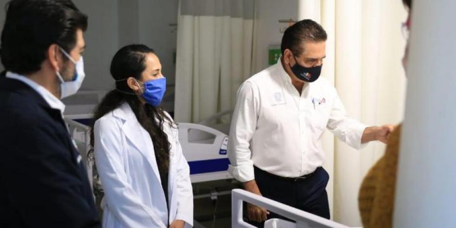 Aureoles estrena Ciudad Salud